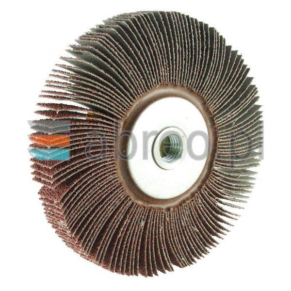 Ściernica listkowa kątowa 125×20 P150 M14