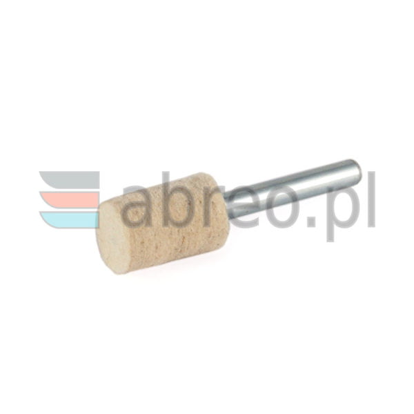 Filc polerski walcowy 15x20x6