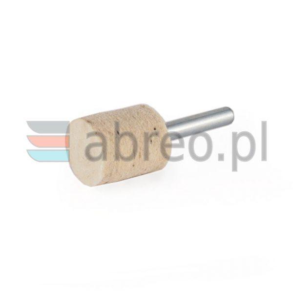 Filc polerski na trzpieniu walcowy 20x20x6