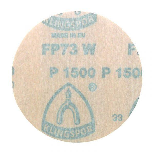 Krążek ścierny na rzep FP 73WK 125 mm KLINGSPOR