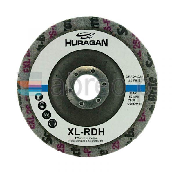 DYSK Z WŁÓKNINY SPRASOWANEJ XL-RD 126x6x22 2S FIN