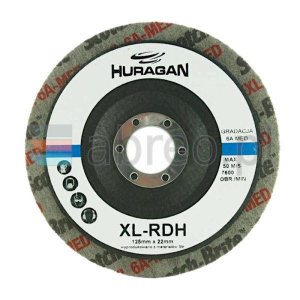 DYSK Z WŁÓKNINY SPRASOWANEJ XL-RD 126x6x22 6A MED